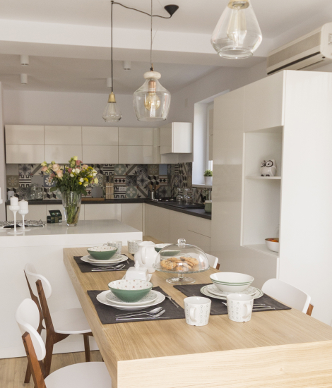Image with a kitchen from American Village